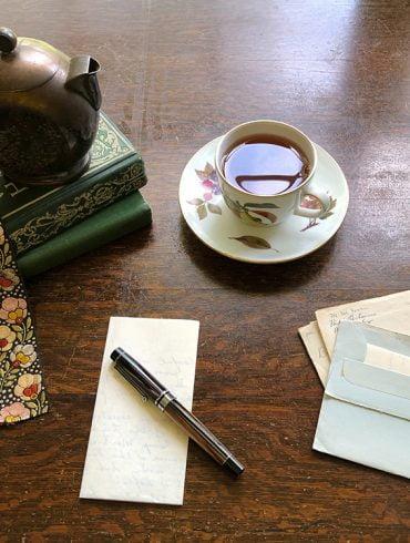 skriva för hand