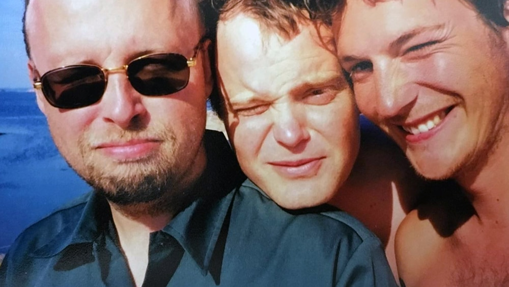 Kristian i Bohuslän tillsammans med två kockar och goda vänner från La Couronne.